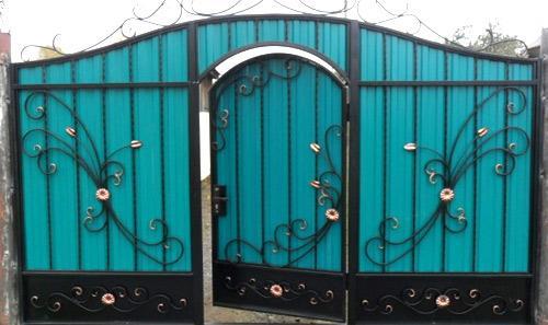 ворота кованные элементы