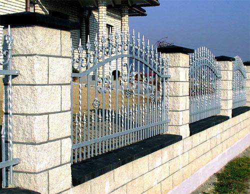 забор стиль прованс
