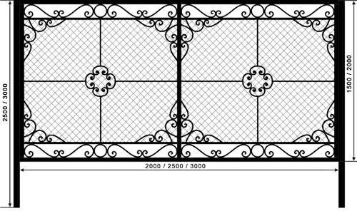 забор сетка рабица