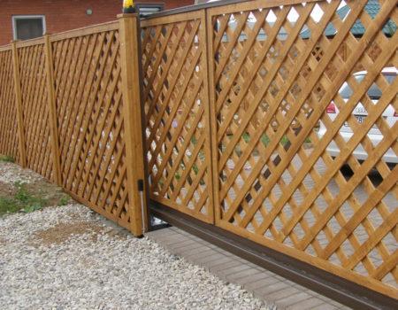 забор решетка