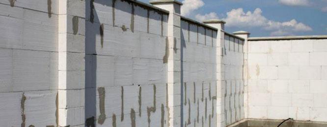 забор газобетон