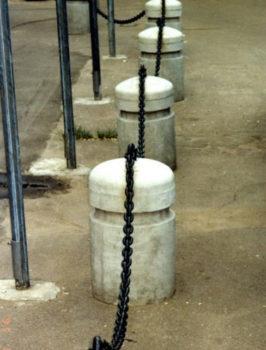 ограждение из цепи