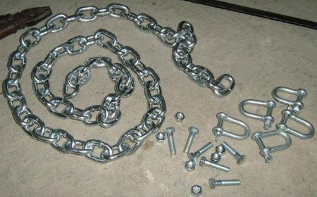 металлическая цепь