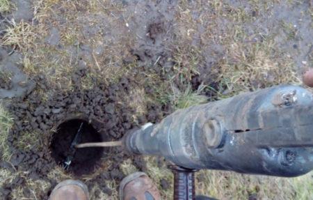 яма под столбы